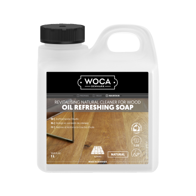 WOCA Olieconditioner Naturel 1L / Oil Refreshing Soap
