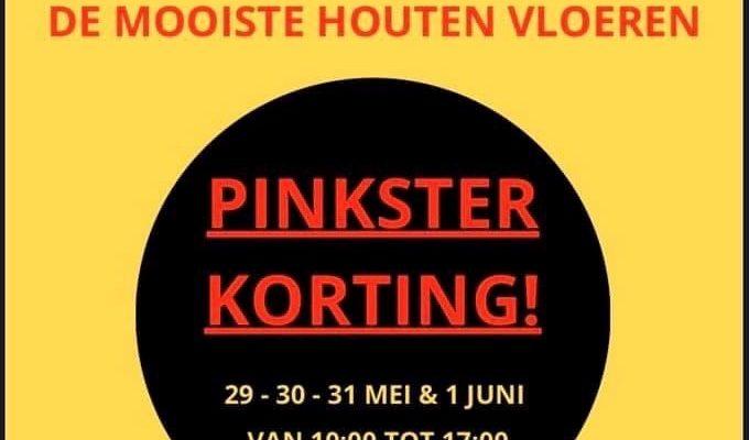 Kortingen In Het Pinksterweekend!